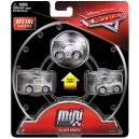 """3-Pack Cars 3 Die-Cast Mini Racers SilverStrip Weathers aka """"The King"""" Exclusive Mattel"""