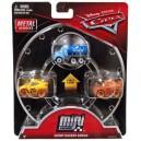 3-Pack Cars 3 Die-Cast Mini Racers Mr. Drippy Exclusive Mattel