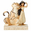 Wondrous Wishes (Jasmine & Rajah) White Woodland Disney Traditions Enesco