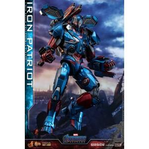 ACOMPTE 20% précommande Iron Man Patriot Endgame Diecast MMS Figurine 1/6 Hot Toys