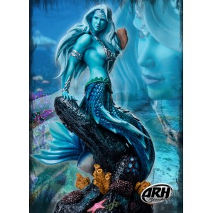 PREORDER Sharleze the Good Mermaid: Blue Skin Version 1:4 Scale Statue ARH Studios