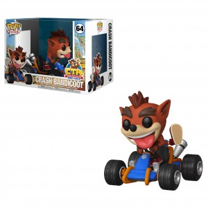 Crash Bandicoot - CTR POP! Rides 64 Figurine Funko