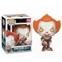 Pennywise with Beaver Hat - It Chapter Two POP! Movies 779 Figurine Funko