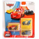 3-Pack Cars 3 Die-Cast Mini Racers XRS Lightning McQueen Exclusive Mattel