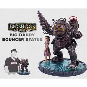 PRECOMMANDE Big Daddy Bouncer - Bioshock Statue Gaming Heads