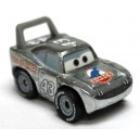 "Silver Strip Weathers aka ""The King"" Cars 3 Die-Cast Mini Racers Mattel"