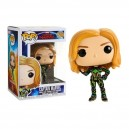 Captain Marvel (with Neon Suit) - Captain Marvel POP! Marvel Bobble-head Funko