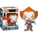 Pennywise with Blade - It Chapter Two POP! Movies 782 Figurine Funko