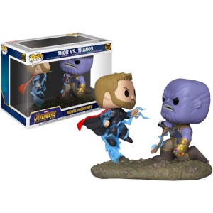 Thor Vs. Thanos - Infinity War POP! Marvel 707 Movie Moments Figurine Funko