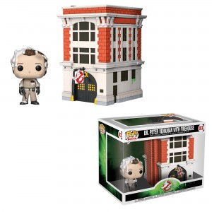 Dr. Peter Venkman with Firehouse POP! Town 03 Figurine Funko