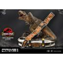 PRECOMMANDE T-Rex VS Velociraptors In The Rotunda - Jurassic Park 1:8 Scale Statue Prime 1 Studio
