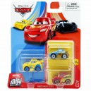3-Pack Cars 3 Die-Cast Mini Racers Dinoco Wraps Sally & Lightning MacQueen Exclusives Mattel