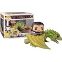 Jon Snow with Rhaegal POP! Rides 67 Figurine Funko