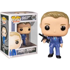 James Bond from Quantum of Solace POP! Movies 689 Figurine Funko