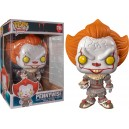 "Pennywise (with Boat) - It 10"" POP! Movies 786 Figurine Funko"
