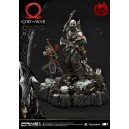 PRECOMMANDE God of War: Deluxe Kratos and Atreus Ivaldi's Deadly Mist Armor Statue Prime 1 Studio