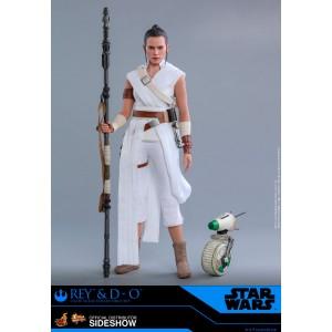ACOMPTE 20% précommande Rey and D-O MMS Figurine 1/6 Hot Toys