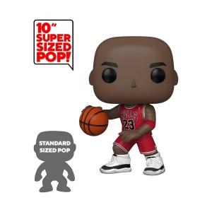 "Michael Jordan (Red Jersey) 10"" POP! Basketball 75 Figurine Funko"
