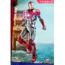 PRECOMMANDE Iron Man Mark XLVII Diecast MMS Figurine 1/6 Hot Toys
