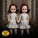Talking Grady Twins - The Shining Living Dead Dolls Mezco