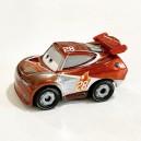 Silver Tim Treadless Cars 3 Die-Cast Mini Racers Mattel