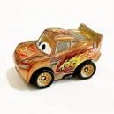 Gold Lightning McQueen Cars 3 Die-Cast Mini Racers Mattel