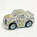 Silver Chick Hicks Cars 3 Die-Cast Mini Racers Mattel