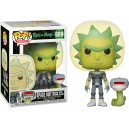 Space Suit Rick with Snake - Rick and Morty POP! Animation 689 Figurine Funko