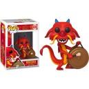 Mushu (with Gong) POP! Disney 630 Figurine Funko