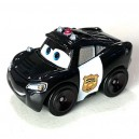 Officer Lightning McQueen Exclusive Cars Die-Cast Mini Racers Mattel