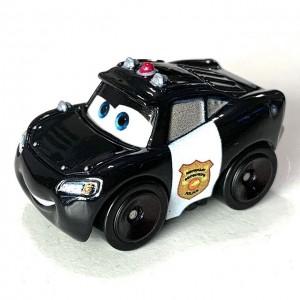 Officer Lightning McQueen Exclusive Cars Die-Cast Mini Racers Mattel