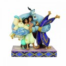 Group Hug! (Aladdin) Storybook Disney Traditions Enesco