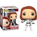 Black Widow (White Suit) - Black Widow POP! Marvel 603 Bobble-head Funko