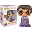 Harry Potter (with Invisibility Cloak) POP! Harry Potter 91 Figurine Funko