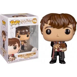 Neville Longbottom (with Monster Book) POP! Harry Potter 116 Figurine Funko