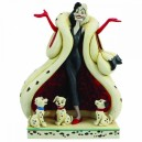 The Cute and the Cruel (Cruella) Disney Traditions Enesco