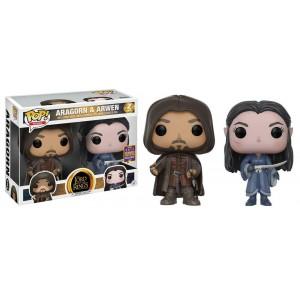 Aragorn & Arwen Exclusive 2-Pack POP! Movies Figurine Funko