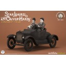 ACOMPTE 20% précommande Stan Laurel and Oliver Hardy on Ford Model T 1:12 Scale Statue Infinite Statue