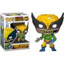 Zombie Wolverine - Marvel Zombies POP! Marvel 662 Bobbe-Head Funko