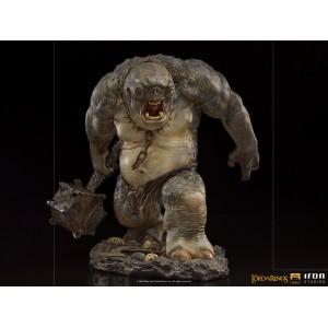ACOMPTE 20% précommande Cave Troll Deluxe BDS Art Scale 1/10 Statue LOTR Iron Studios
