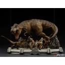 PRECOMMANDE Jurassic Park: The Final Scene 1:20 Scale Diorama Iron Studios