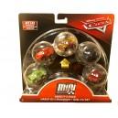 5-Pack Variety Cars Die-Cast Mini Racers Metallic Rust-eze Cruz Ramirez Exclusive Mattel