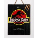 Wood Arts 3D Jurassic Park Movie Poster Doctor Collector