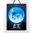 WOODARTS 3D E.T. The Extra-terrestrial Movie Poster Doctor Collector