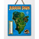 WOODARTS 3D Jurassic Park Isla Nublar Map Doctor Collector