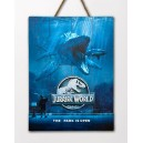 WOODARTS 3D Jurassic World Mosasaurus Doctor Collector