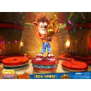 ACOMPTE 20% précommande Crash (Winner) CTR Nitro-Fueled Statue First 4 Figures