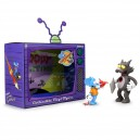Itchy and Scratchy The Simpsons Medium Art Collectible Vinyl Figurine Kidrobot