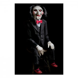 Billy (Saw) Puppet Prop replica Trick or Treat Studios