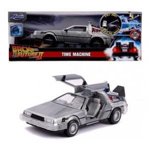 "DeLorean Time Machine Fly Mode ""Retour vers le futur II"" 1/24 Jada"